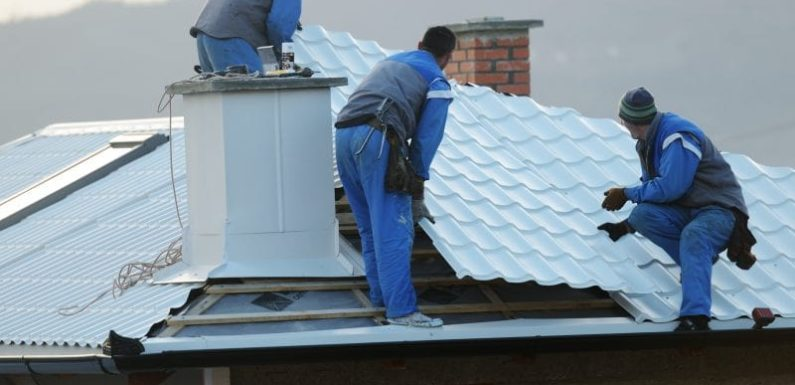 A Residential Roof Replacement