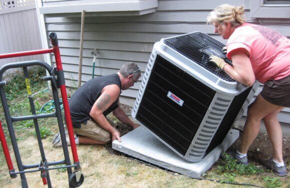 Central Air Conditioner Unit